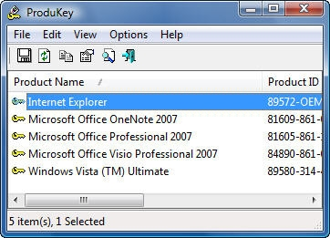 codice product key microsoft office 2007