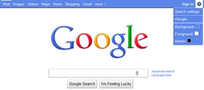 Google Navbar