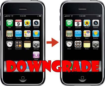 Iphone Downgrade1