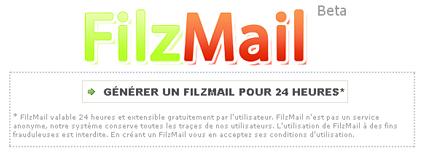 filzmail Crare Indirizzi di Posta Elettronica Temporanei della Durata di 24 ore con FilzMail