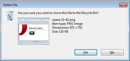 delete Come disattivare la conferma eliminazione su Windows o escludere il cestino