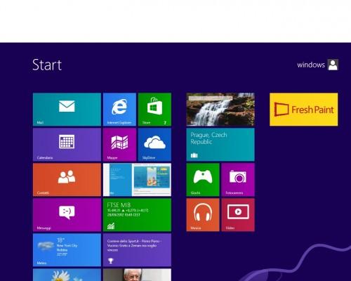 windows8 Aggiungere icona Pannello di Controllo, Risorse del Computer e Risorse di Rete sul desktop di Windows 8