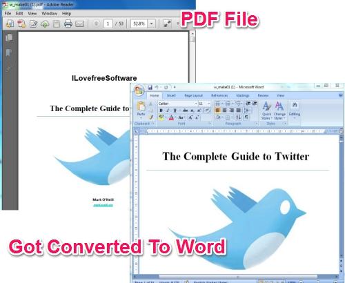 convertii pdf to word Convertire PDF in file Word online grazie a Convertii