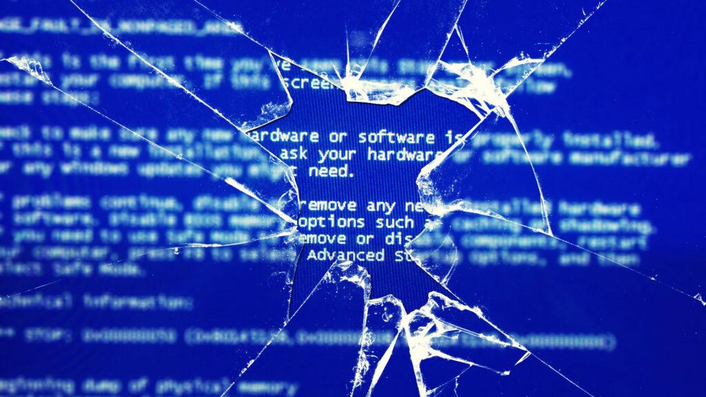 Blue screen error 1024x576 Risolvere Errore BSOD – SESSION3 INITIALIZATION FAILED Windows XP