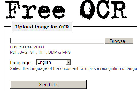 free ocr scanner Estrarre facilmente i Testi da Immagini e Foto con Free OCR
