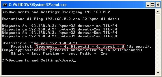 ping Come Eseguire un Test Ping tra 2 Computer Collegati in Rete