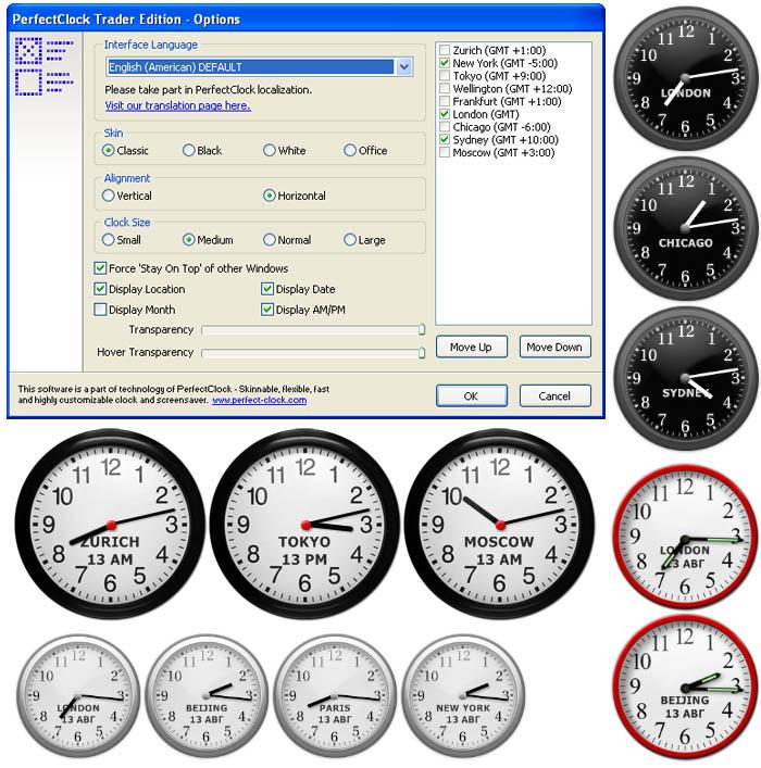 screen Modificare la grafica allorologio di Windows con Free Desktop Clock