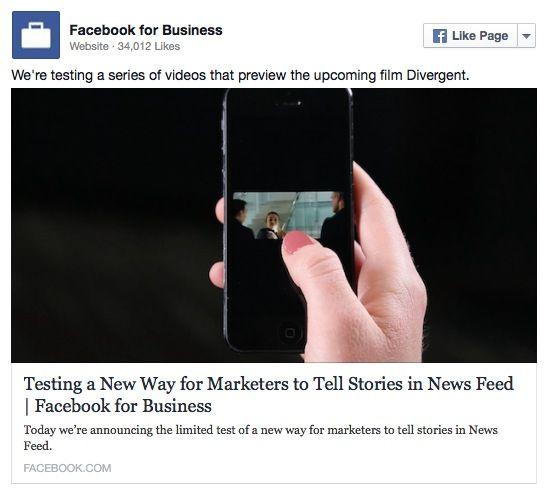 Facebook Pubblicita In Autoplay