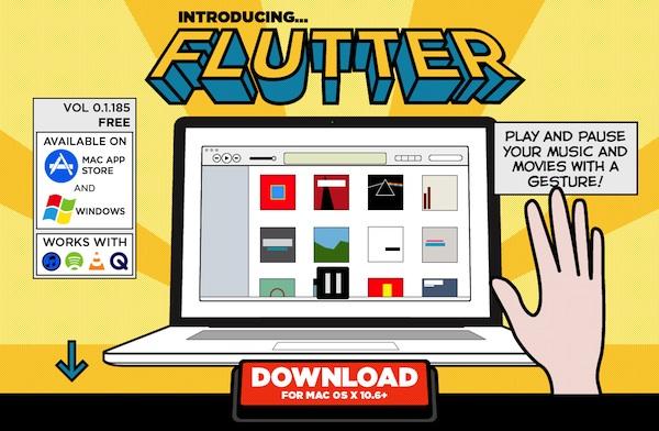 Flutter Come Avviare ed interrompere la riproduzione della musica di iTunes con i gesti delle mani