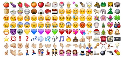 emoji icons iphone 400x187 Come installare le emoticons Apple in Android 4.4 KitKat