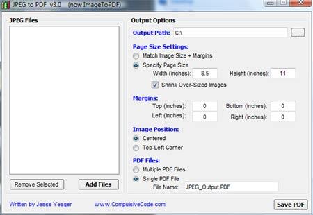 jpg to pdf Come Trasformare immagini JPEG in PDF con JPEGtoPDF