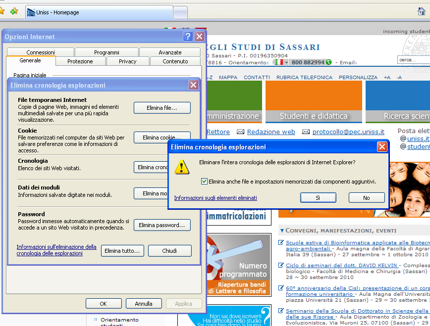 svuota04 Come Recuperare Cronologia internet Cancellata su Google Chrome