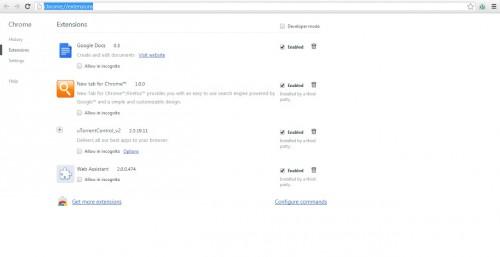 How to remove the uTorrent toolbar from Google Chrome  Come rimuovere la toolbar di uTorrent da Google Chrome