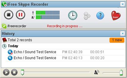 ifree skype recorder Registrare le chiamate su Skype gratis con iFree Skype Recorder