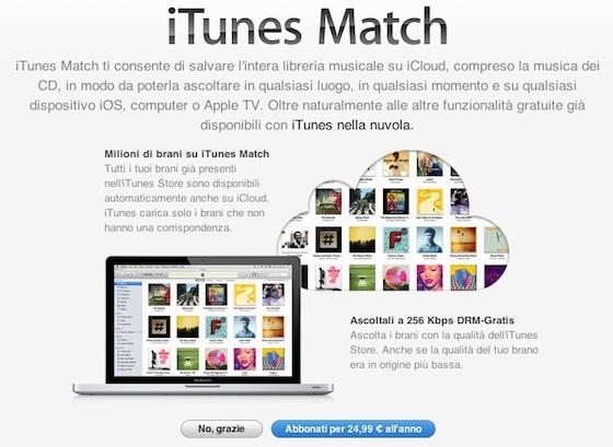 20140124 162100 Risolvere problema di sincronizzazione con iTunes Match