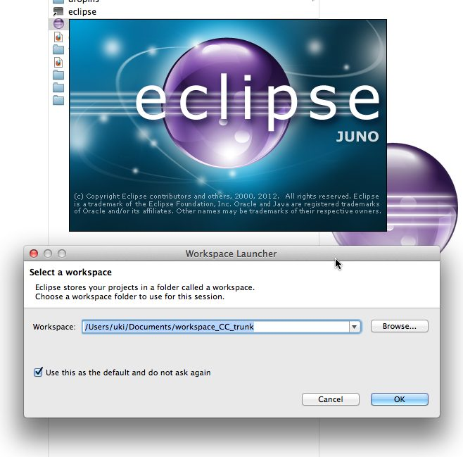 Eclipse Workspace