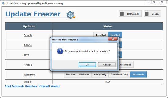 Update-Freezer-Desktop-Shortcut