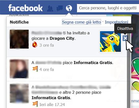 Disattivare Notifiche Facebook1