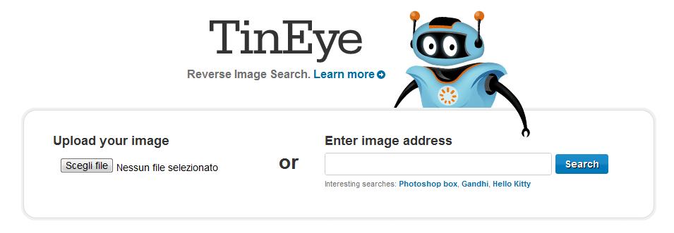 download 2 Scopri se le tue foto si trovano su siti a tua insaputa con TinEye