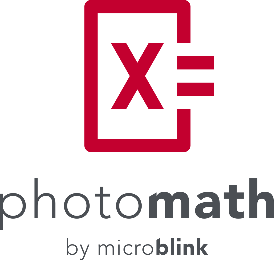 PhotoMath Logo Vertical