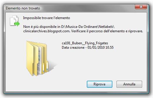 img 3290 Eliminare file con errore Impossibile trovare lelemento tramite prompt dei comandi
