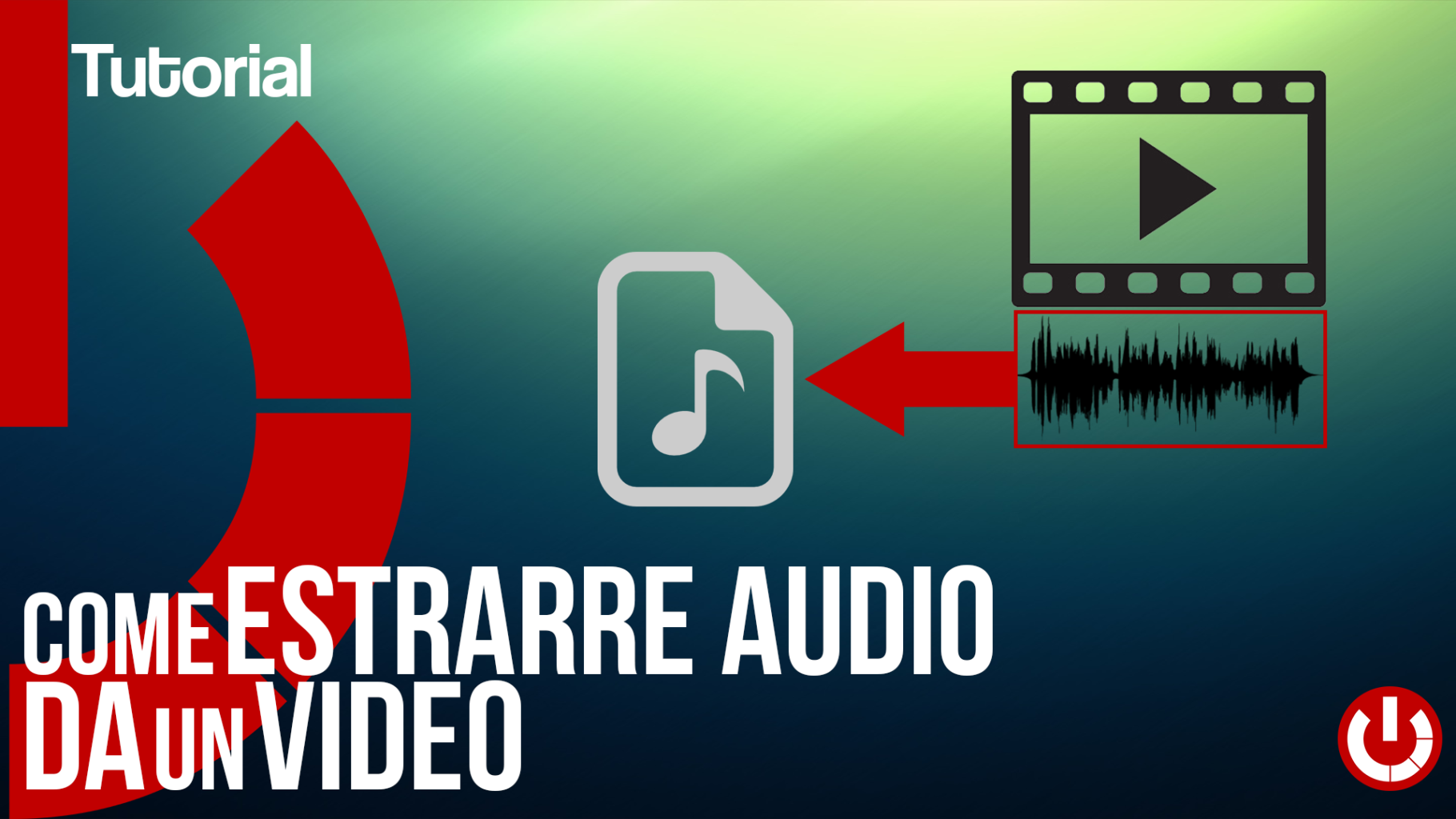 Come estrarre audio da un video