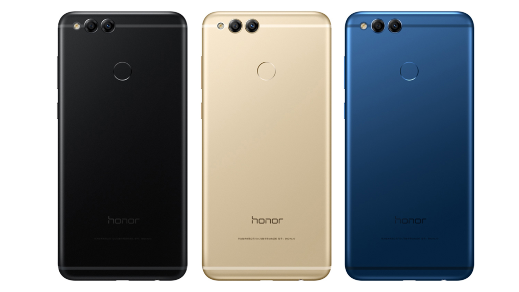 Honor 7X Colors