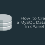 come creare un nuovo database su cpanel
