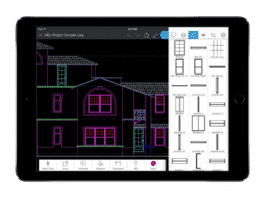 AutoCAD mobile tablet 1024x760