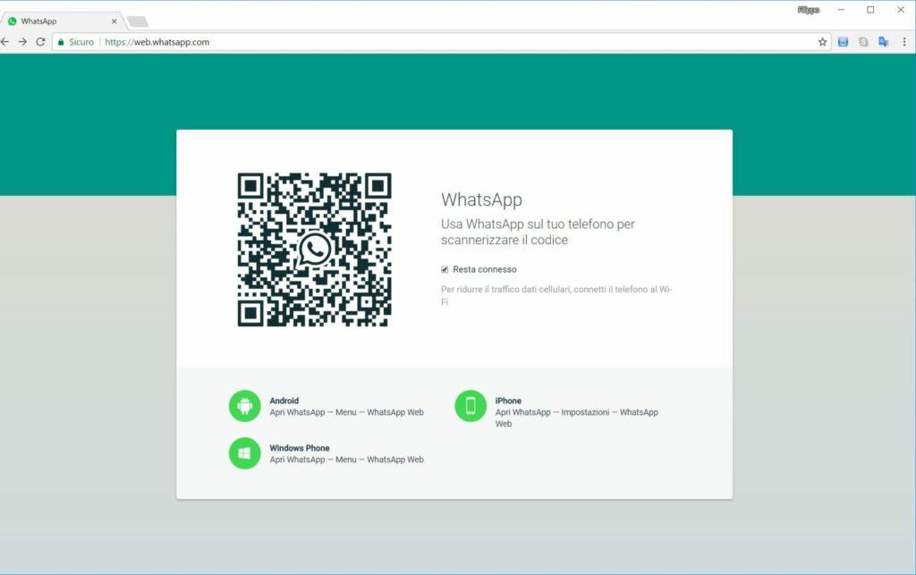 Come condividere messaggi con WhatsApp Web
